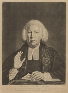 Thomas Maxfield, by Richard Houston, published by  Carington Bowles, after  Thomas Beach - NPG D38334