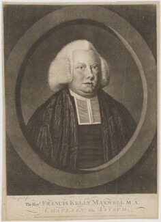 Francis Kelly Maxwell, by Philip Dawe, published by  Carington Bowles - NPG D38336