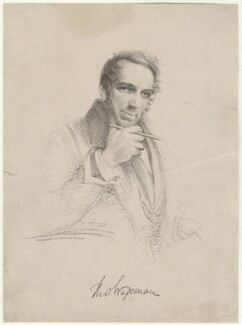 Thomas Charles Wageman, by J.M. Johnson, after  Thomas Charles Wageman - NPG D38546