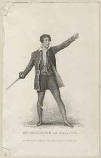 Robert William Elliston as Walter, by Thomas Woolnoth, published by  John Cumberland, after  Thomas Charles Wageman - NPG D38547