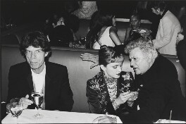 Mick Jagger; Madonna; Tony Curtis, by Dafydd Jones - NPG x134043