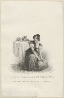 Eleanora ('Ellen') Kean (née Tree) as Rose Redland in 'Tthe Robber's Wife', by John Henry Robinson, published by  John Cumberland, after  Thomas Charles Wageman - NPG D38551