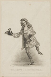 John Reeve as Lord Grizzle, by Thomas Anthony Dean, published by  John Cumberland, after  Thomas Charles Wageman - NPG D38559