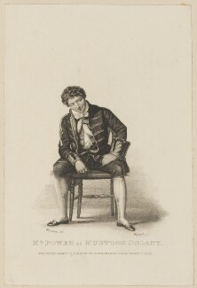(William Grattan) Tyrone Power as Murtock Delaney, by Thomas Woolnoth, published by  John Cumberland, after  Thomas Charles Wageman - NPG D38562