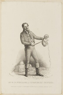 William Henry as Humphrey Clinker, by Edward Scriven, published by  John Cumberland, after  Thomas Charles Wageman - NPG D38567