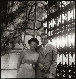 Peggy Guggenheim; Raoul Gregorich, by Ida Kar - NPG x134083