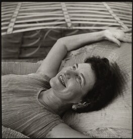Peggy Guggenheim, by Ida Kar, 1952-1953 - NPG  - © National Portrait Gallery, London