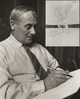 Joan Miró, by Ida Kar, 1954 - NPG  - © National Portrait Gallery, London