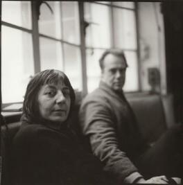 Ida Kar; Victor Musgrave, by John Malcolm Couzins - NPG x134105