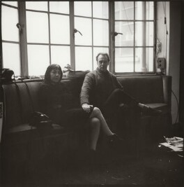 Ida Kar; Victor Musgrave, by John Malcolm Couzins - NPG x134106