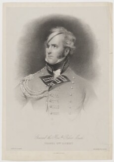 Robert Meade when Colonel of 12th Regiment, by Thomas Fairland, printed by  M & N Hanhart, after  George Henry Harlow - NPG D38351