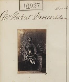 'Mrs Herbert Davis's children', by Camille Silvy - NPG Ax64809