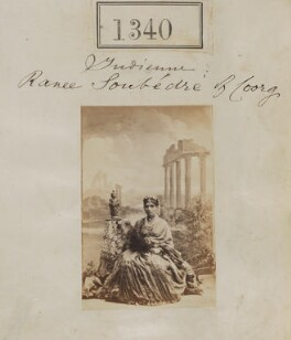 Ranee Soubédre of Coorg, by Camille Silvy - NPG Ax50740
