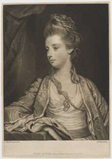 Elizabeth Lamb (née Milbanke), Viscountess Melbourne, by and sold by John Finlayson, after  Sir Joshua Reynolds - NPG D38360