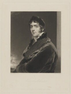 William Lamb, 2nd Viscount Melbourne, by Edward McInnes, published by  Hodgson & Graves, after  Sir Thomas Lawrence - NPG D38361