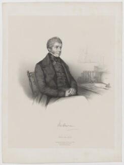 William Lamb, 2nd Viscount Melbourne, by Émile Desmaisons, published by  A.H. & C.E. Baily, after  Samuel Diez - NPG D38362
