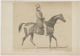 William Lamb, 2nd Viscount Melbourne, published by Thomas McLean - NPG D38363