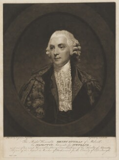 Henry Dundas, 1st Viscount Melville, by John Raphael Smith, after  Sir Joshua Reynolds - NPG D38366