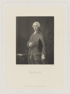 Welbore Ellis, 1st Baron Mendip, by Charles Algernon Tomkins, published by  Henry Graves & Co, after  Thomas Gainsborough, published 1868 - NPG D38368 - © National Portrait Gallery, London