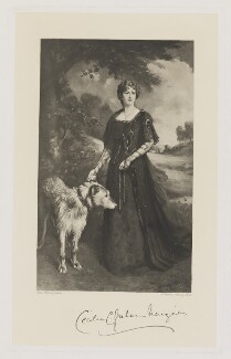 Cecilia Clementina Menzies (née Wombwell), by Frederick John Jenkins, after  Ellis William Roberts - NPG D38371