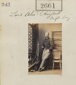 Lord Alexander George Russell, by Camille Silvy - NPG Ax52050