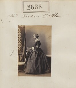 Mary Cotton (née Cunliffe), by Camille Silvy - NPG Ax52022