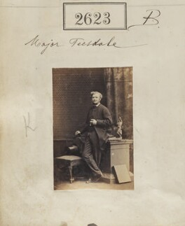 Sir Christopher Charles Teesdale, by Camille Silvy - NPG Ax52012