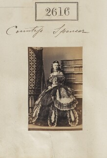 Charlotte Frances Frederica Spencer (née Seymour), Countess Spencer, by Camille Silvy - NPG Ax52005