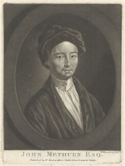 John Methuen, by William Humphrey, published by  William Richardson - NPG D38381