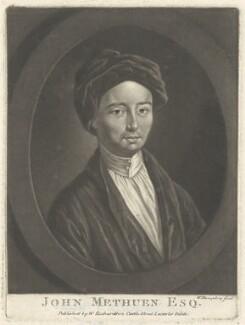 John Methuen, by William Humphrey, published by  William Richardson - NPG D38381