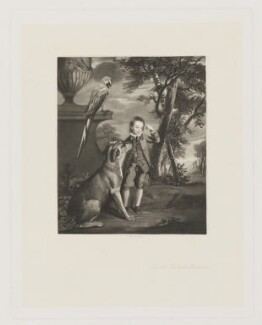 Thomas Methuen, by Robert Bowyer Parkes, after  Sir Joshua Reynolds - NPG D38386