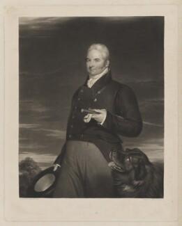 Sir Henry Meux, 1st Bt, by William Giller, after  James Holmes - NPG D38387