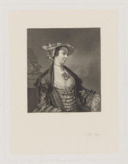 Miss Meux, by Robert Bowyer Parkes, after  Sir Joshua Reynolds - NPG D38390