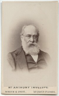 Anthony Trollope, by Window & Grove - NPG x134140