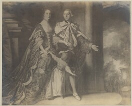 Earl and Countess of Mexborough and their son John, after Sir Joshua Reynolds - NPG D38391