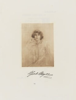 Ms Meyer, by Frederick John Jenkins - NPG D38395