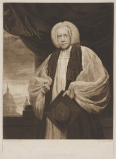 Thomas Newton, by and published for Thomas Watson, after  Sir Joshua Reynolds - NPG D38750