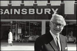 Alan John Sainsbury, Baron Sainsbury of Drury Lane, by Brian Shuel - NPG x134117