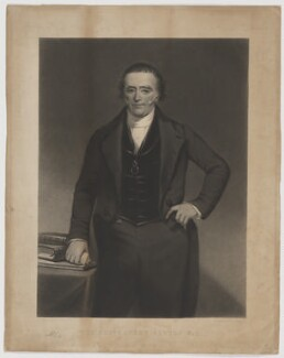 Robert Newton, by Thomas Oldham Barlow, after and published by  Henry Calvert - NPG D38751