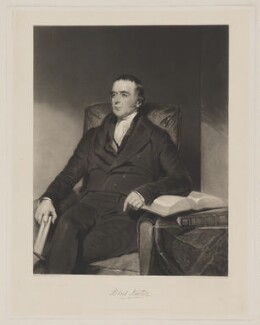 Robert Newton, by Samuel William Reynolds Jr, published by  Thomas Agnew, after  John Bostock, published 1 February 1840 - NPG D38752 - © National Portrait Gallery, London