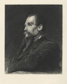 Sir Richard Francis Burton, by Léopold Flameng, after  Frederic Leighton, Baron Leighton, (circa 1872-1875) - NPG D38802 - © National Portrait Gallery, London