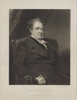 George Vance, by Thomas Goff Lupton, published by  Paul and Dominic Colnaghi & Co, after  William Gush - NPG D38804