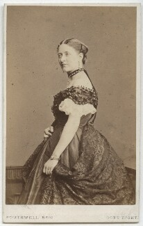 (Louisa) Ruth Herbert, by Southwell Brothers, published by  A. Marion, Son & Co - NPG x18446