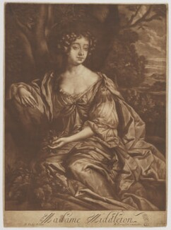 Jane Myddelton (née Needham) ('Madame Middleton'), by Richard Tompson, after  Sir Peter Lely - NPG D38404