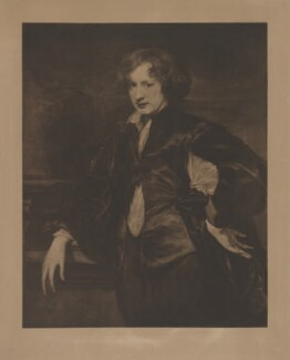 Sir Anthony van Dyck, published by Photographische Gesellschaft, after  Sir Anthony van Dyck - NPG D38807