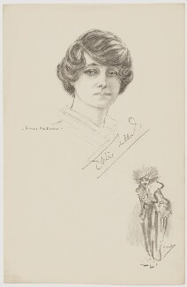 Gertie Millar, after Howard van Dusen, after  John Hassall - NPG D38410