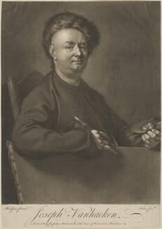Joseph van Aken, by John Faber Jr, published by  George Pulley, after  Thomas Hudson - NPG D38815