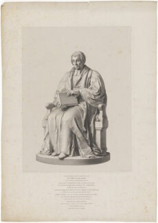William Van Mildert, by Richard James Lane, after  John Gibson - NPG D38816