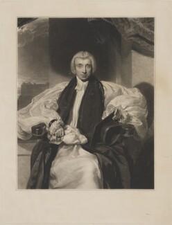 William Van Mildert, by Thomas Goff Lupton, after  Sir Thomas Lawrence, circa 1831 - NPG D38817 - © National Portrait Gallery, London