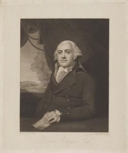 Robert Milligan, by James Anthony Minasi, after  Lemuel Francis Abbott - NPG D38411